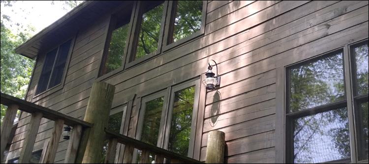 Log Home Restoration Repair
