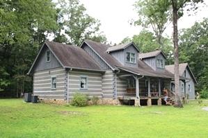 Log Home Repair Images